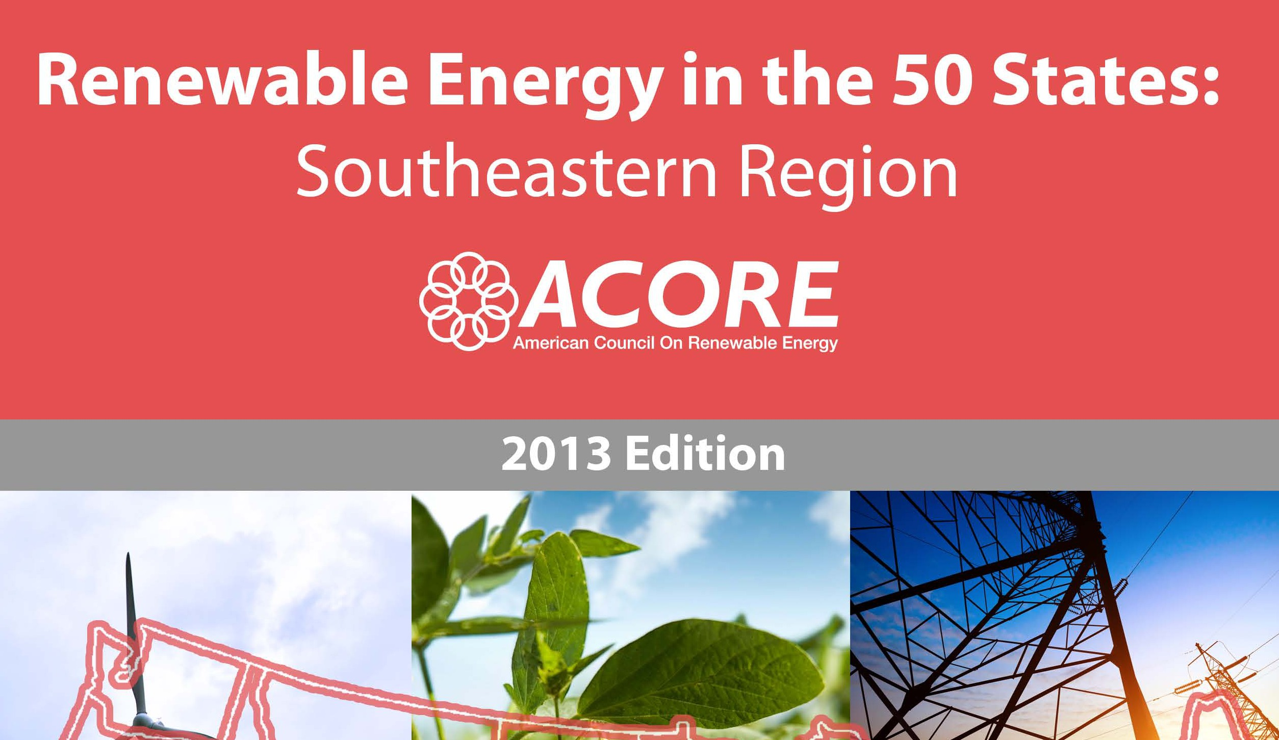 New Report from ACORE: Renewable Energy in 50 states