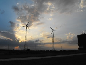Two 50 kW E-3120 Wind Turbines